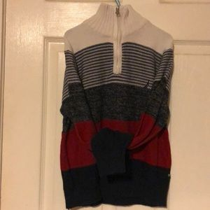 High neck boy sweater